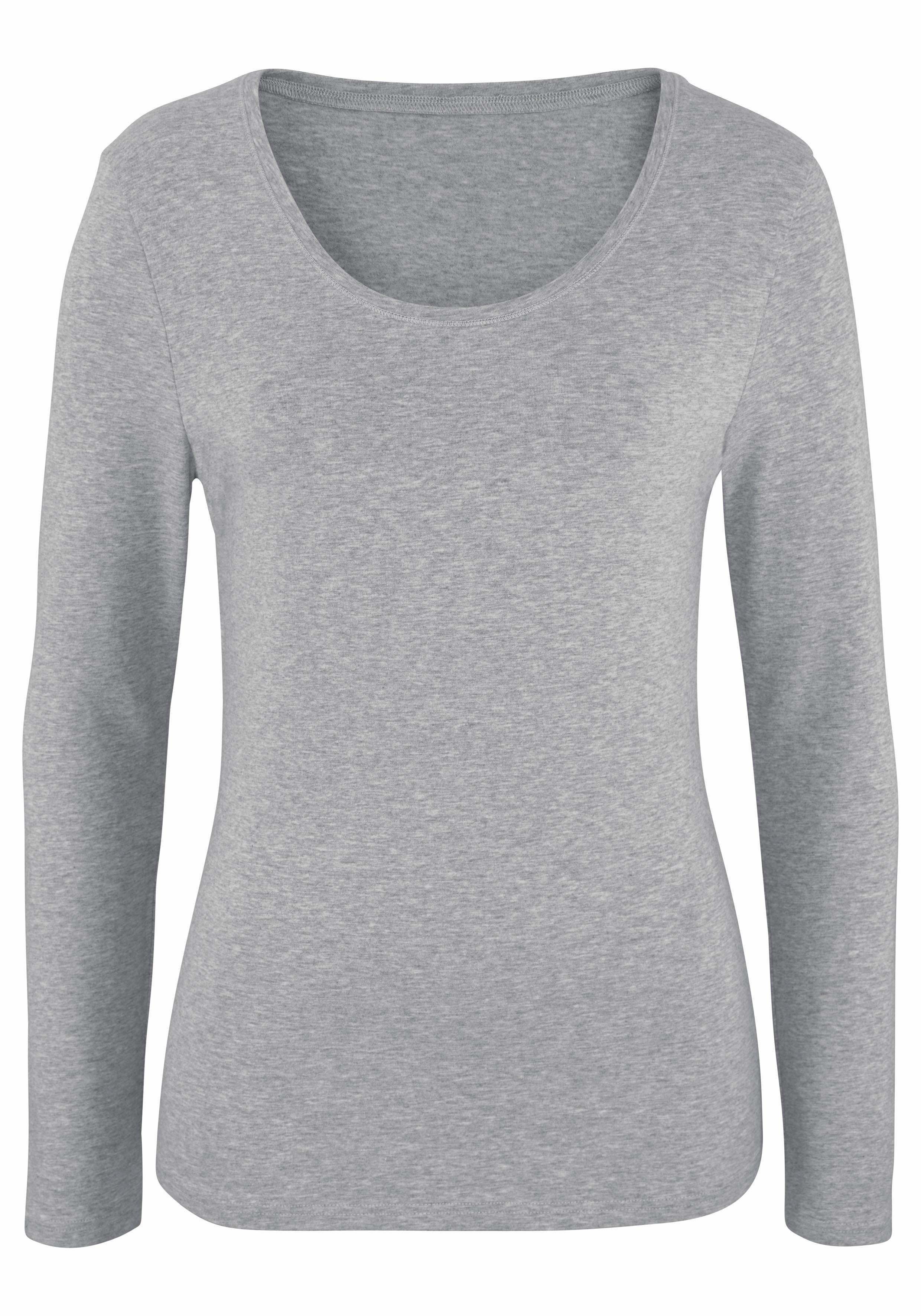 Mouwenset Shirt Vivance Van Je 2Koop Lange Met Bij b7Yfyg6v
