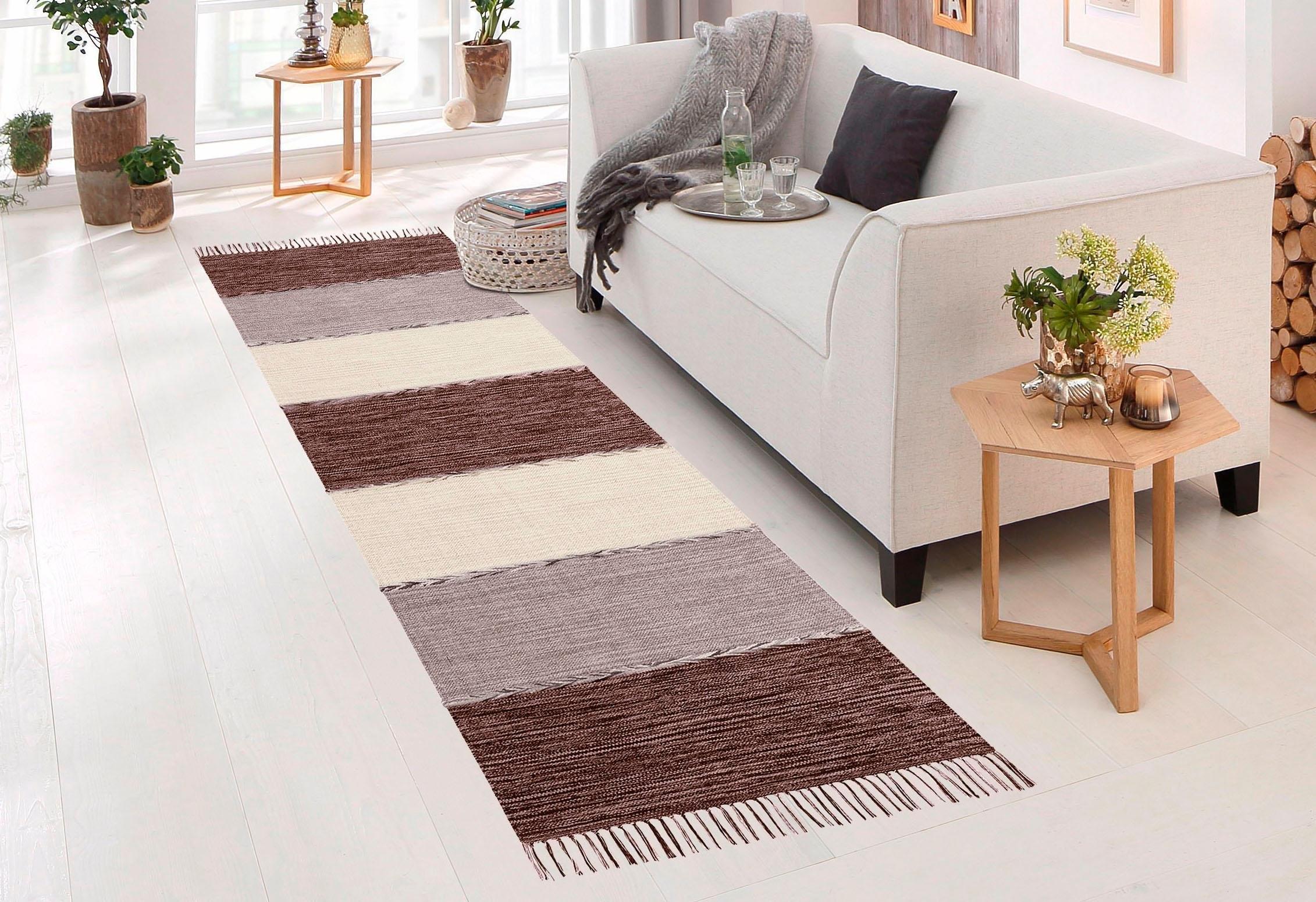 loper home affaire collection nabil platweefsel makkelijk gekocht otto. Black Bedroom Furniture Sets. Home Design Ideas