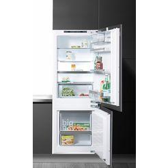 siemens inbouw-koel-vriescombinatie ki77sad30, energieklasse a++, 157,7 cm hoog, lowfrost wit