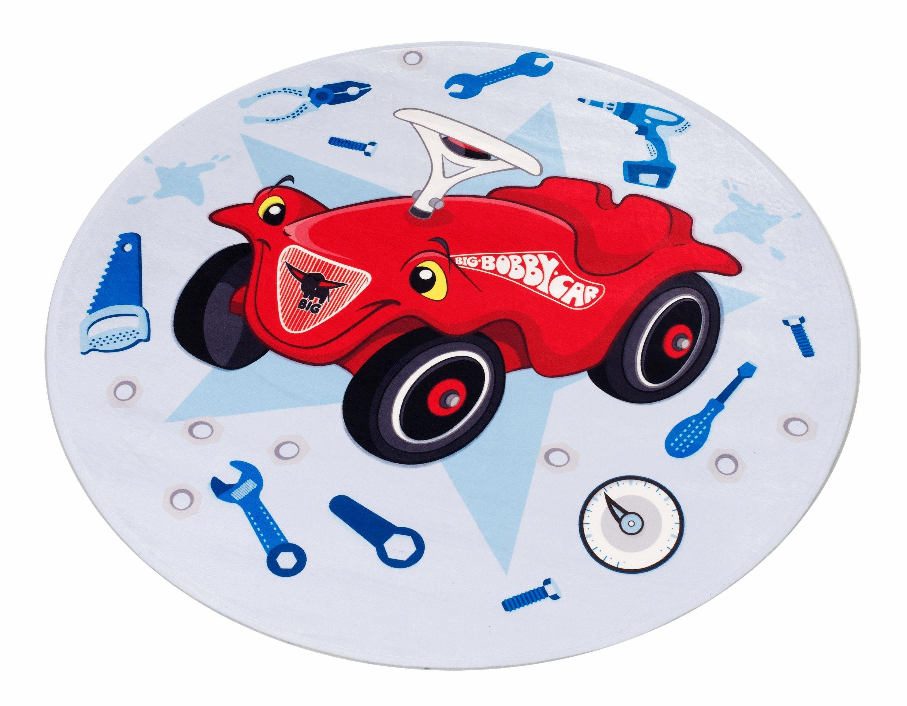 Rond Vloerkleed Kinderkamer : Vloerkleed voor de kinderkamer bobby car « bobby car rond
