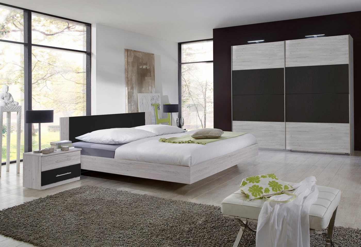 Slaapkamer Franziska in 4-delige set