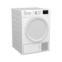 beko warmtepompdroger ds7433pxw wit