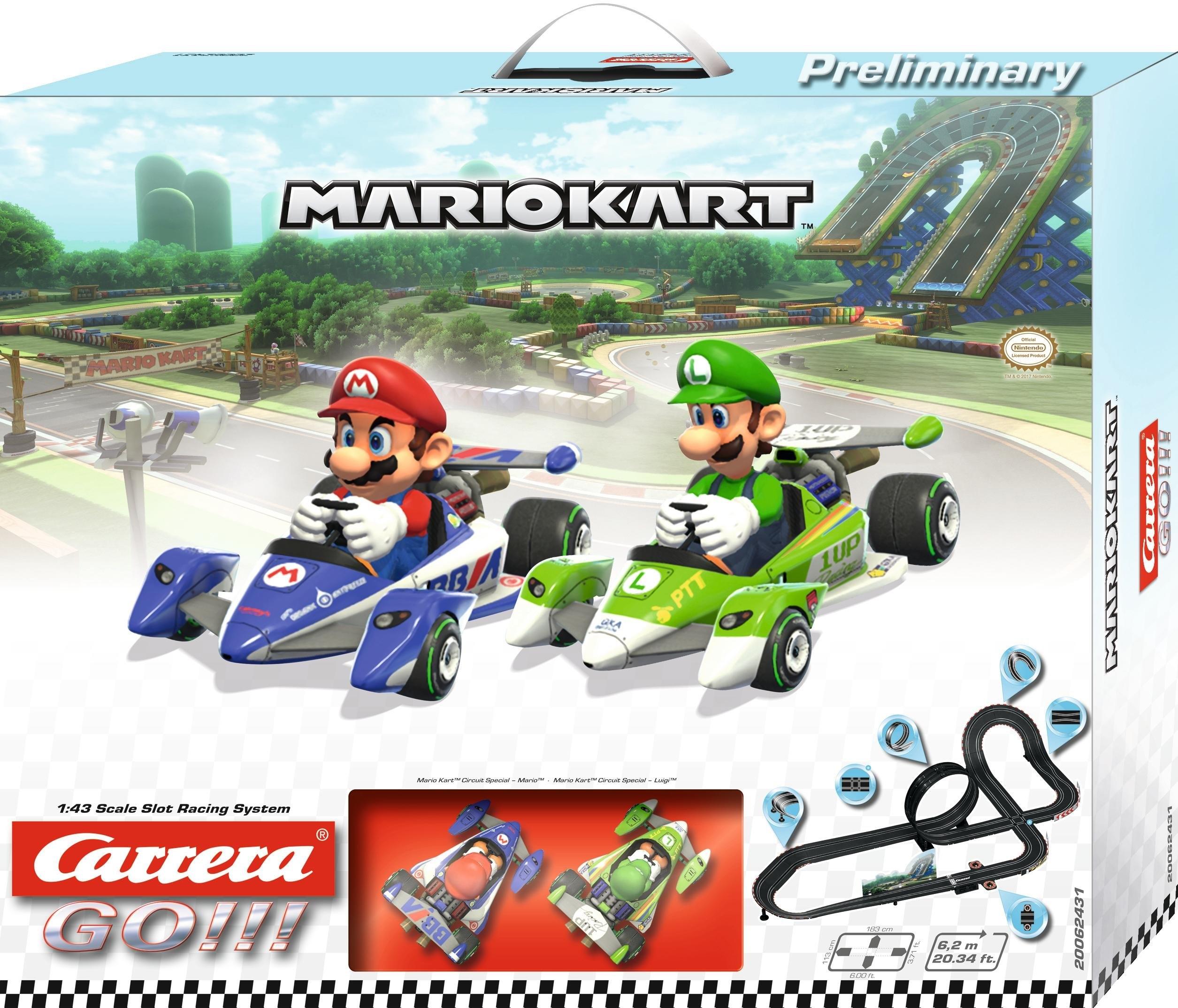 Carrera racecircuit, »Carrera® GO!!! Mario Kart™« - gratis ruilen op otto.nl