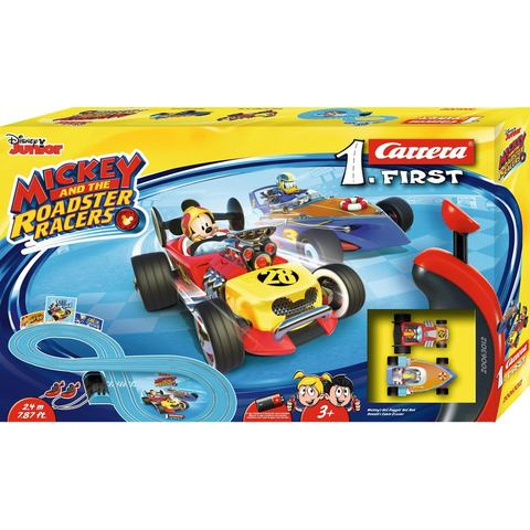 CARRERA racecircuit voor kinderen, Carrera® First Mickey and the Roadstar Racers