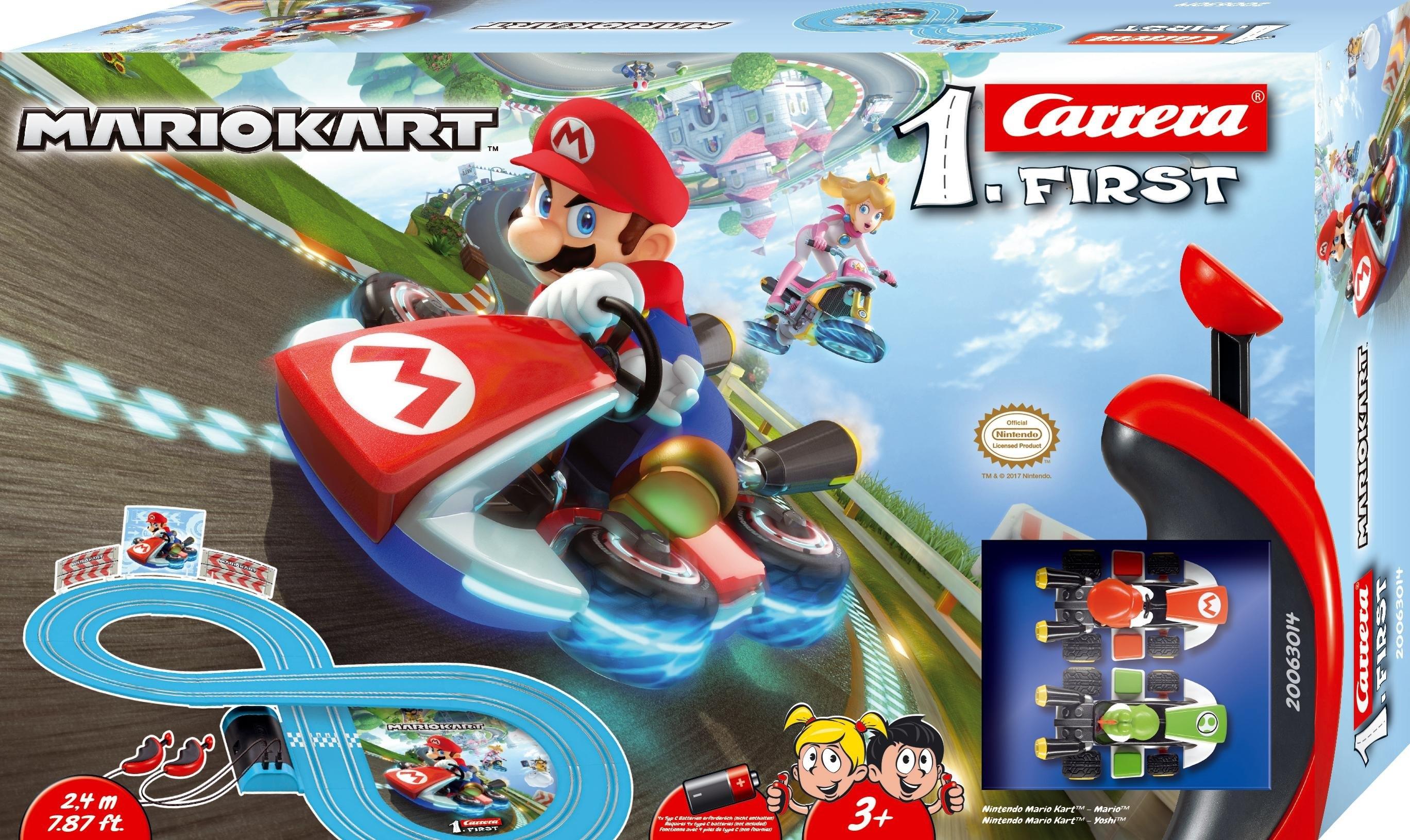 Carrera racecircuit voor kinderen, »Carrera® First Nintendo Mario Kart™« - verschillende betaalmethodes