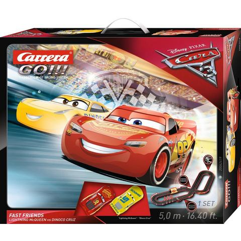 CARRERA racecircuit, Carrera® GO!!! DISNEY/Pixar Cars 3 Fast Friends