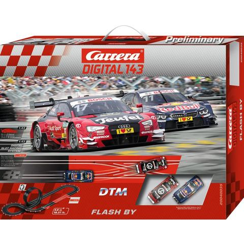 CARRERA racecircuit, Carrera® Digital 143 DTM Flash By