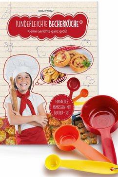 Kinder-kookboek 'Kinderleichte Becherküche', 4-delig