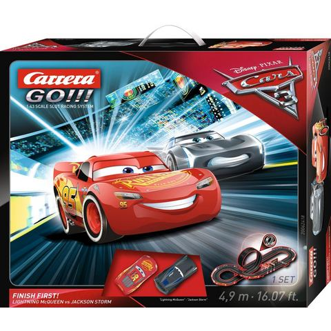 CARRERA racecircuit, Carrera® GO!!! DISNEY/Pixar Cars 3 Finish First!