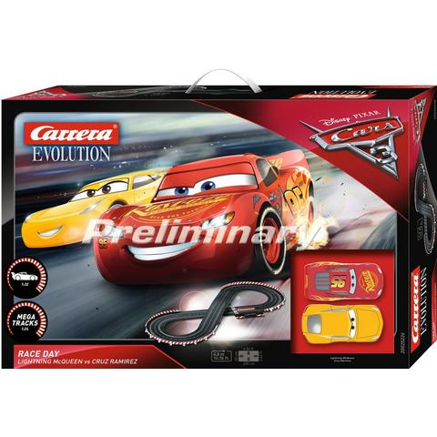 CARRERA racecircuit, Carrera® evolutie DISNEY/Pixar Cars 3 Race Day