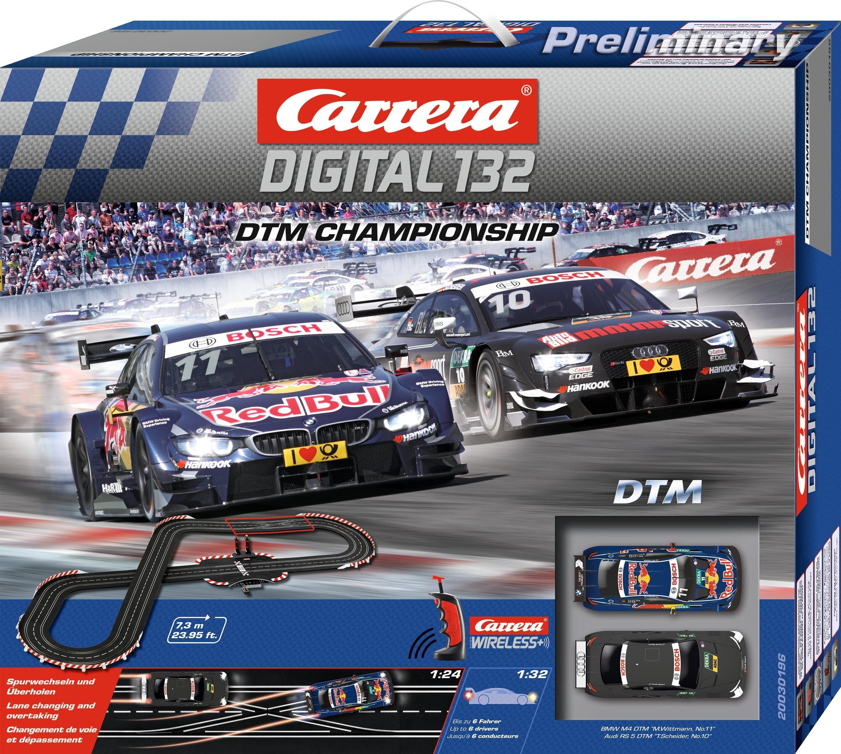 Carrera racecircuit, »Carrera® Digital 132 DTM Championship« bij OTTO online kopen