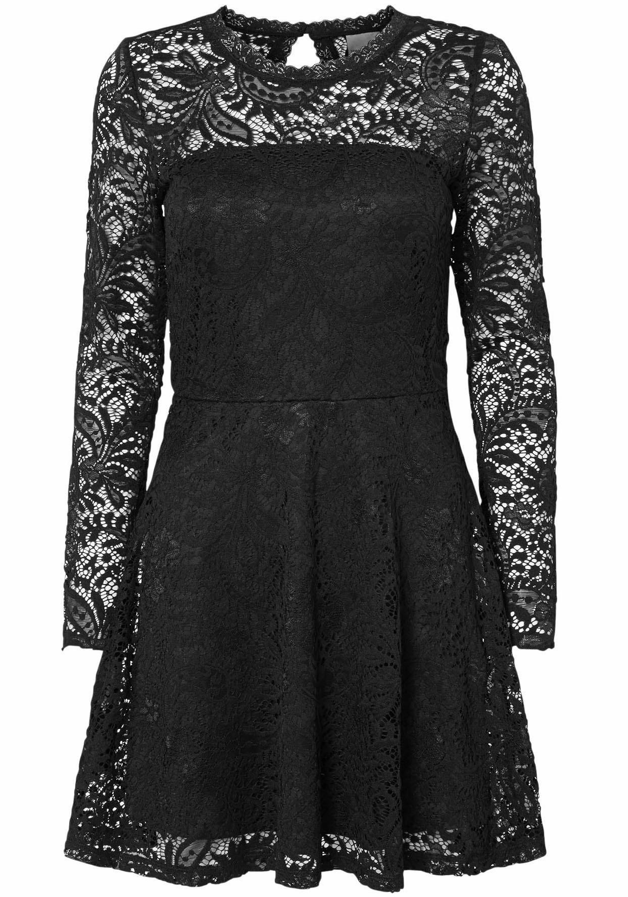 Kanten jurk vero moda