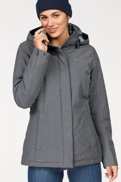 vaude winterjack »limford jacket« grijs