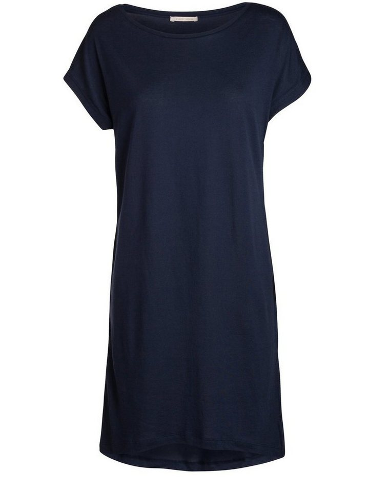 NU 21% KORTING: Pieces Solid jersey Vrijetijdsjurk blauw