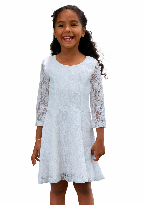 Kanten jurk otto