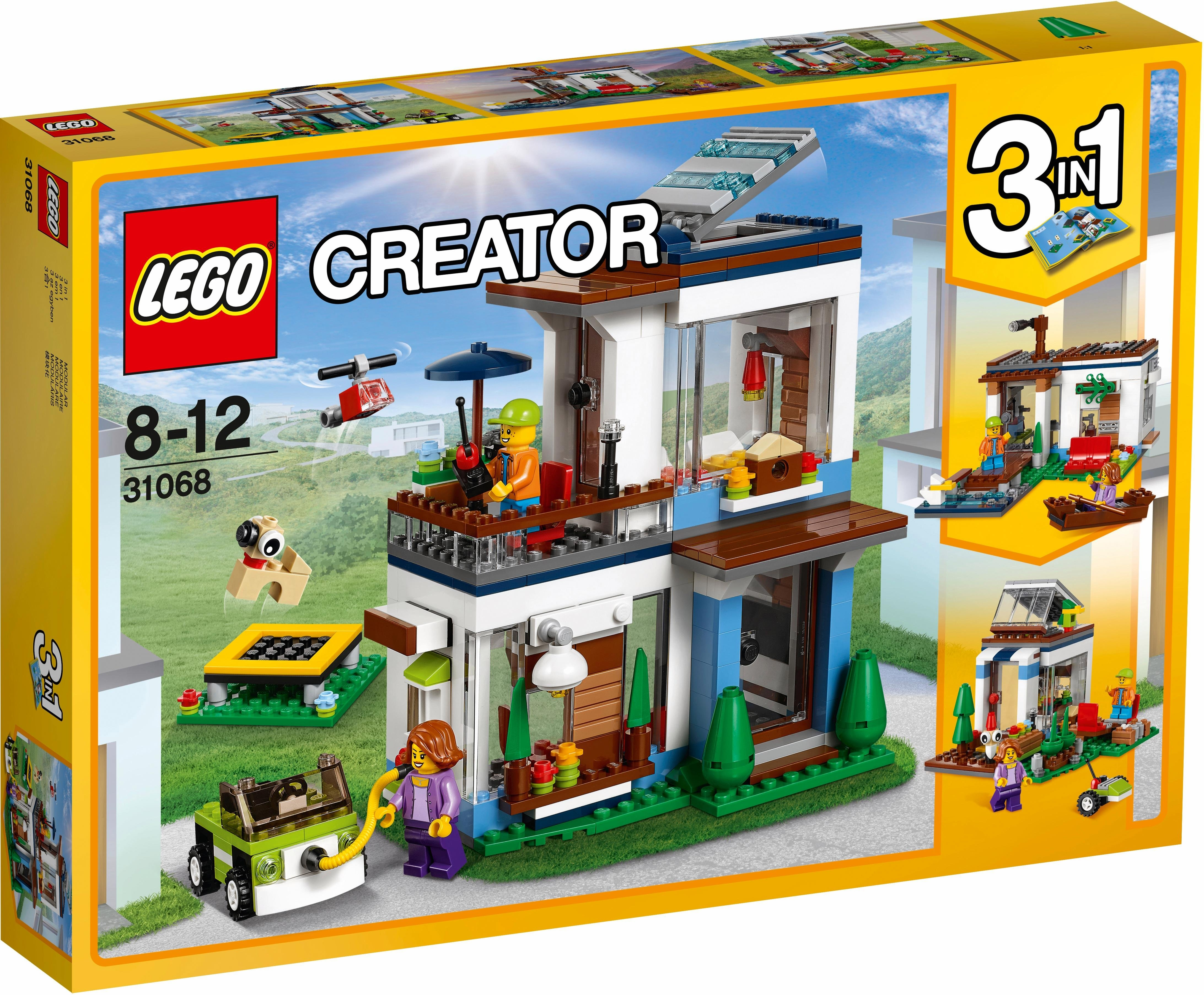 lego modern huis 31068 39 lego creator 39 online shoppen otto. Black Bedroom Furniture Sets. Home Design Ideas