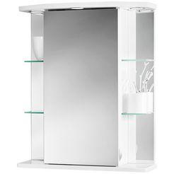 jokey spiegelkast »havana led«, breedte 55 cm wit