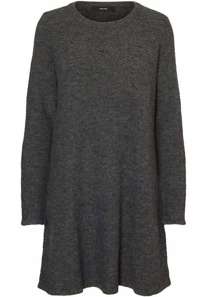 Vero Moda tricotjurk GINGER grijs