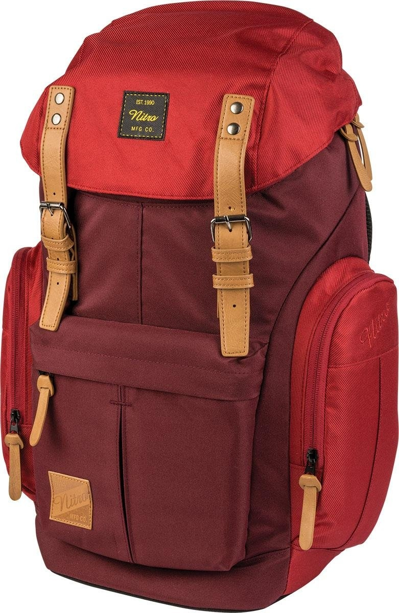 NITRO rugzak met laptopvak, »Daypacker Chili« in de webshop van OTTO kopen