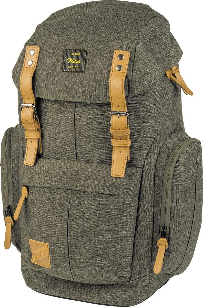 Nitro rugzak met laptopvak »Daypacker Burtn Olive« nu online bestellen