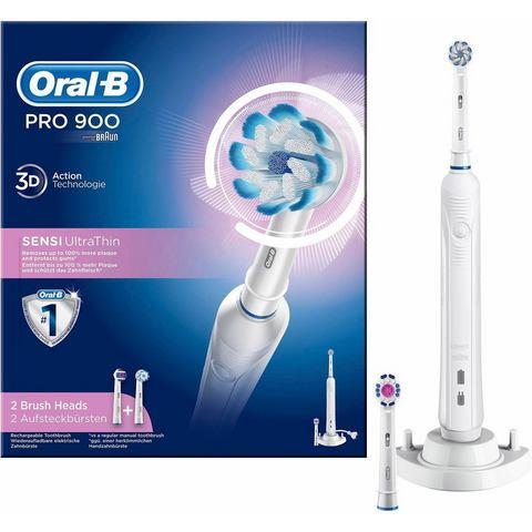 Oral-B elektrische tandenborstel per 900 Sensi Ultrathin, powered by Braun