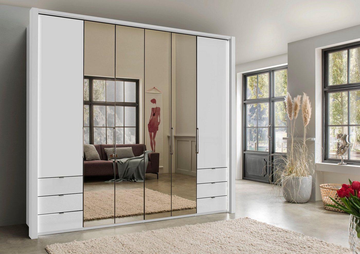 WIEMANN garderobekast, met spiegel en laden
