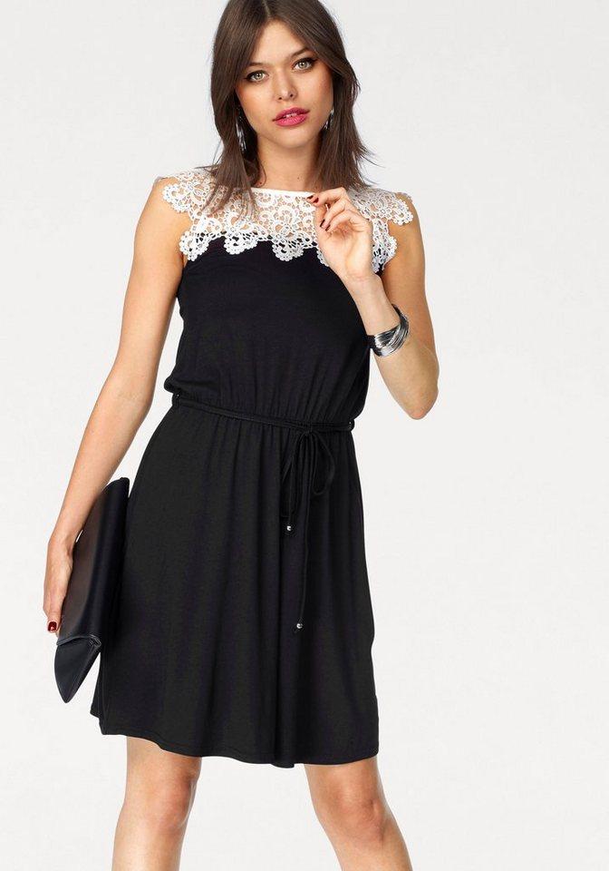 Melrose jerseyjurk zwart