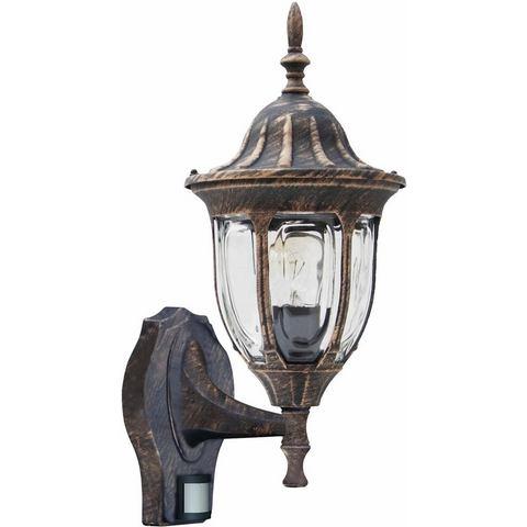 Jens Stolte buitenlamp, wandlamp staand, met bewegingsmelder, Milano