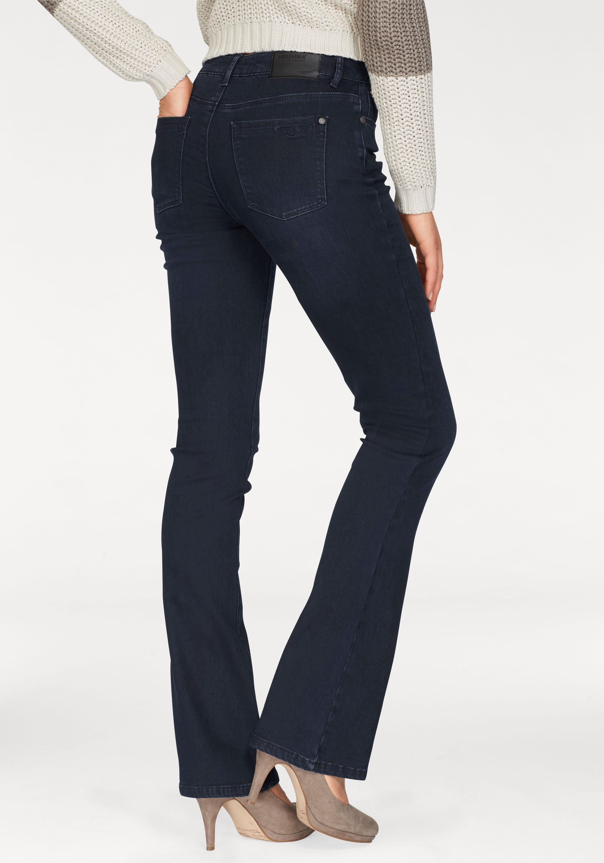 Arizona Bootcut jeans Met thermo-effect High Waist in de webshop van OTTO kopen