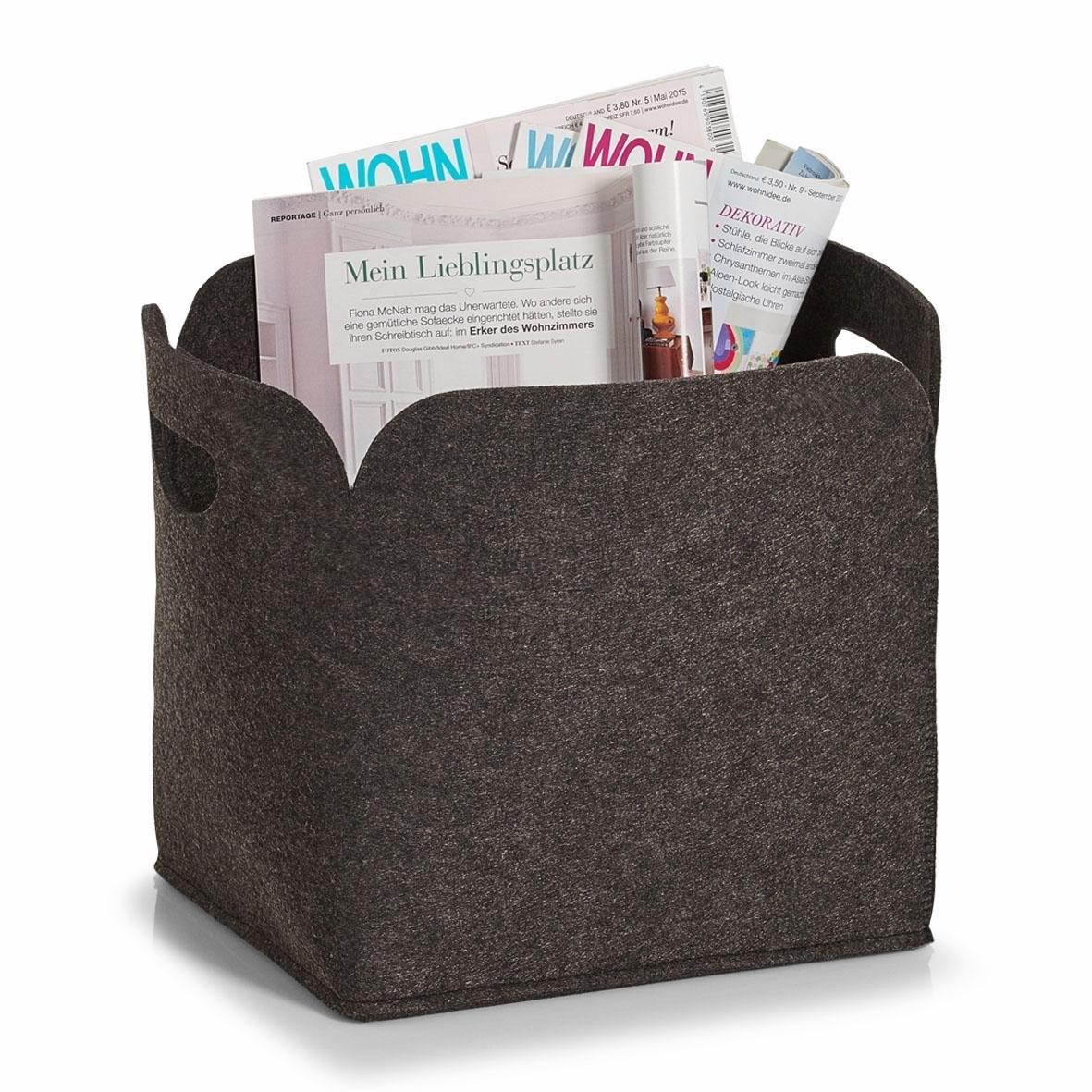 Zeller Present opbergbox hoog, vilt, 30x24x30 in de webshop van OTTO kopen