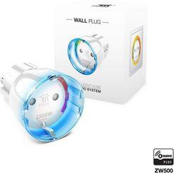 fibaro smart home accessoires »zwischenstecker schalter typ f (schuko)« wit
