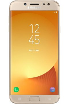 Galaxy J7 (2017) DUOS smartphone, 13,9 cm (5,5 inch) display, LTE (4G), Android 7.0