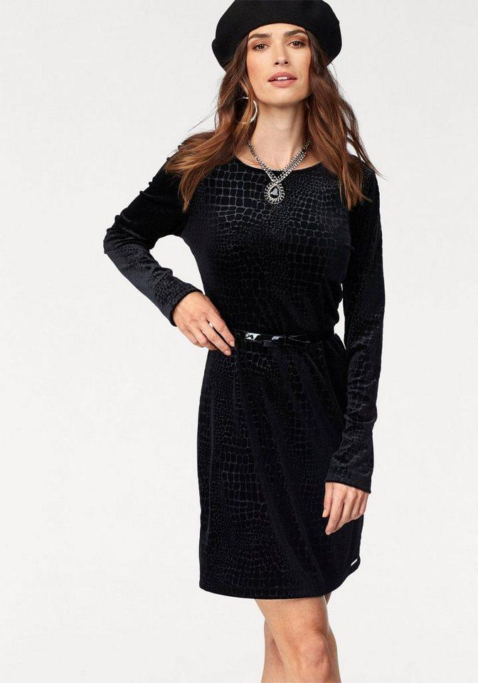 Bruno Banani fluwelen jurk zwart