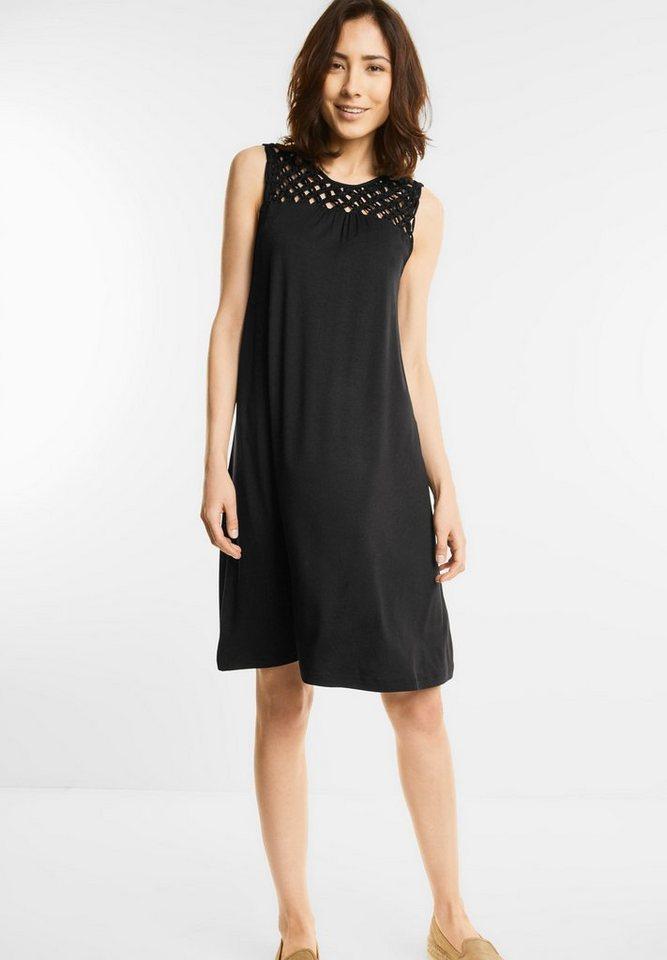 Street One jurk met geknoopt gedeelte zwart