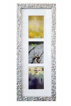 home affaire galerielijst melbourne fotolijstjes voor 3 of 7 foto's, zilverkleur, fotoformaat 10x15 cm zilver