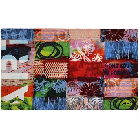 Loper, Contemporary, Salonloewe, rechthoekig, hoogte 6 mm, print