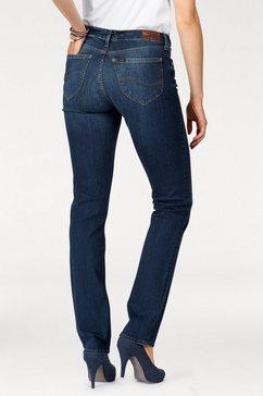lee straight-jeans blauw