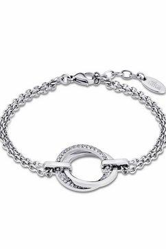 lotus style edelstalen armband »privilege, ls1780-2-1« zilver