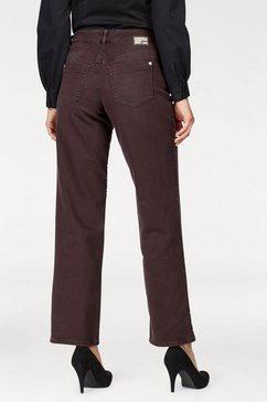 mac prettige jeans »gracia« rood