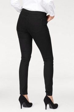 mac skinny-fitjeans »skinny« zwart