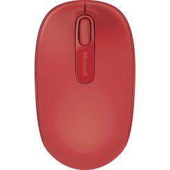microsoft draadloze mobiele muis 1850 rood