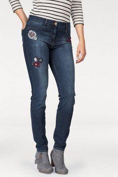 brax skinny fit-jeans blauw