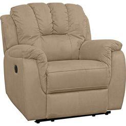 home affaire fauteuil in klassieke landhuisstijl beige
