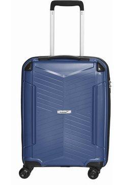 packenger harde trolley 'silent', 4 wieltjes blauw