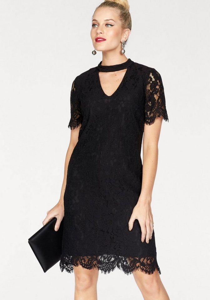 VERO MODA kanten jurk ELVIRA zwart