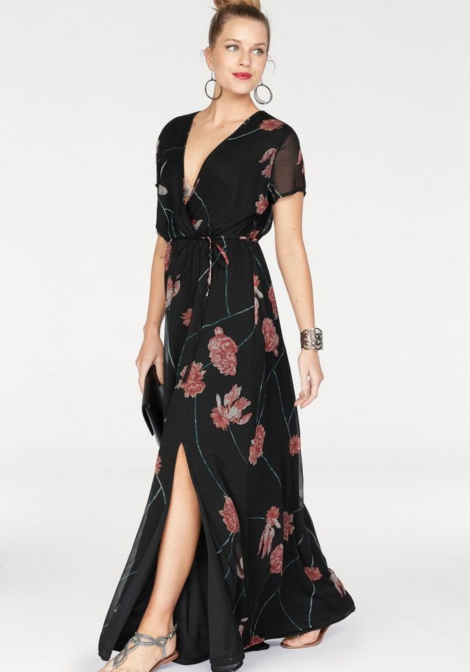 VERO MODA maxi-jurk ROSE zwart