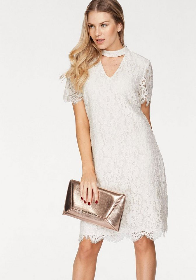 VERO MODA kanten jurk ELVIRA wit
