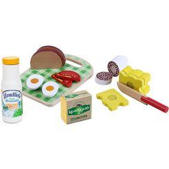 tanner speellevensmiddelen van hout, »brood met accessoires« multicolor