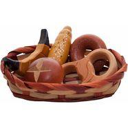 tanner speellevensmiddelen broodmandje met accessoires multicolor