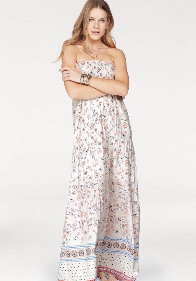 ONLY maxi-jurk LOUISE wit